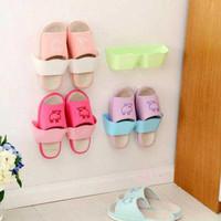 promo Rak Tempat Sandal Sepatu Tempel Dinding Pintu Meja Holder Hook
