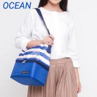 Blue Sofie Natural Moms Cooler Bag Asi Tote Tas Pendingin Asi