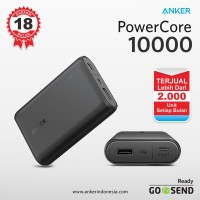 Anker Powerbank PowerCore 10000mAh Hitam - A1263H11