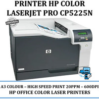 Printer Laser A3 Colour HP CP5225n - A3 Bewarna, 20PPM, 600DPI
