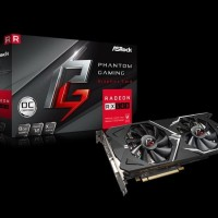 VGA AMD Asrock RX 580 8GB DDR5 OC Phantom Gaming D