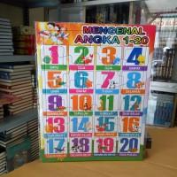 Puzzle / Puzle / Pazel Angka uk Besar - belajar mengasah otak anak