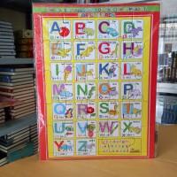 Puzzle / Puzle / Pazel Abjad uk Besar - belajar mengasah otak anak