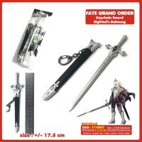 Jual Gantungan Kunci Anime Fate Grand Order Pedang Siegfried Balmung Murah