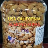 ROASTED ALMOND Kupas Kulit 1KG USA - CALIFORNIA
