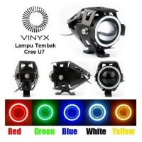 Lampu Tembak - Sorot LED Cree U7 Transformer Projector - Projie Motor
