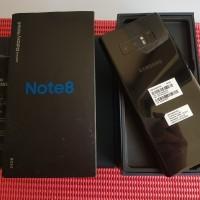 Samsung Galaxy Note 8 GOLD SEIN 6/64GB Fullset Mulus Garansi Panjang