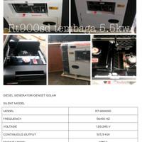 mesin genset solar type rt9000sd watt 5kw full tembaga merk Robotech