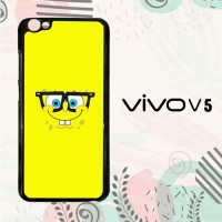 Casing Vivo V5 Custom Hardcase HP Spongebob Squarepants Face 5 L0271