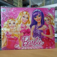 Puzzle / Puzle / Pazel Barbie uk Besar - belajar mengasah otak anak