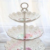 TK-6083-3 Cupcake stand cake tier karakter dessert table hiasan meja