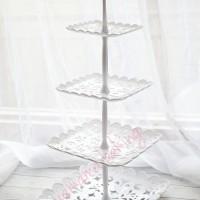TK-7123-5-4 Cupcake stand cake tier karakter dessert table piring kue