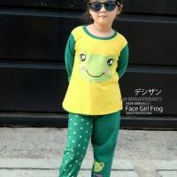 Dessan Piyama Anak Perempuan Face Animal Frog (NEW)