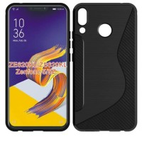 Softcase TPU Carbon Fiber Rugget Case Cover Casing HP Asus Zenfone 5Z