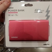 MINISO /POWER BANK 4000mAh