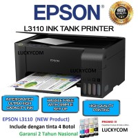 EPSON Printer L3110 Print Scan Copy Terbaru
