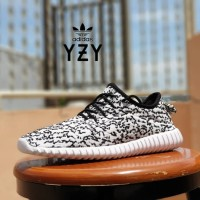 ORI sepatu sport adidas yeezy boost 350 white limited / sneaker pria