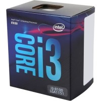 Processor Intel Core i3 8100 Coffee Lake Quad-Core 3.6 GHz LGA 1151