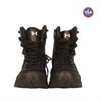 Sepatu Under Armour 8 Inch Boots Hitam Tactical Safety Army