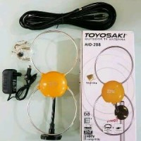 ANTENA TV TOYOSAKI AIO 288-ANTENA DIGITAL LUAR DALAM-AN Berkualitas