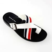 Harga flash sale josh joe sandal pria kulit keren casual | antitipu.com