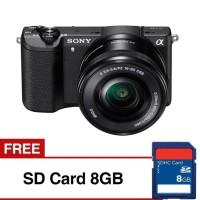 Harga sony alpha a5100 kamera digital mirrorless 16 50mm 24 3 mp sdhc | Pembandingharga.com
