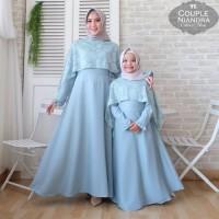Baju Busana Muslim Gamis Couple Ibu dan Anak Monscrep N