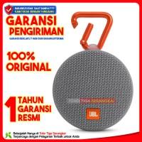 JBL Clip 2 Portable Speaker Bluetooth Waterproof - Abu-abu