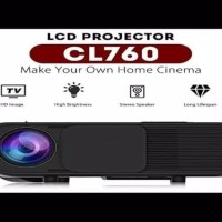 Cheerlux CL760 320ANSI Proyektor 3200 Lumiens 1080p With TV Tuner NeW