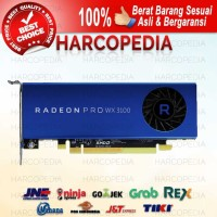 VGA Card AMD Radeon Pro WX3100 4GB 128bit Workstation Rendering