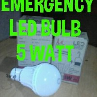 Terlaris Lampu Led Bulb - Emergency 5 Watt Extra Terang