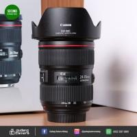 [SECONDHAND] Canon EF 24-70mm f/2.8L II USM - 07 @Gudang Kamera Malang