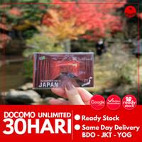 SIMCARD JEPANG 30 HARI 100 GB UNLIMITED | Japan Sim Card Kartu Data