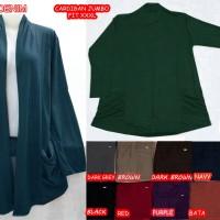 Cardigan Spandek Bigsize Fit To XXXL Kode 0525