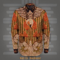 Kain Kemeja Batik Sutera Baron ATBM Premium Tulis Tanahan