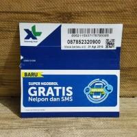 Nomor Cantik 5232 0900 Perdana XL SUPER NGOBROL GRATIS Nelpon SMS