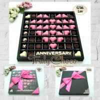 hadiah anniversary pernikahan special cokelat Trulychoco