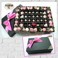 kado ulang tahun special coklat trulychoco cantik