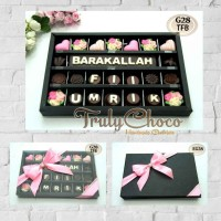 hadiah ulang tahun coklat trulychoco cantik