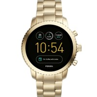 Fossil Q Men's Gen 3 Explorist Stainless Steel Smartwatch Color: Gold-