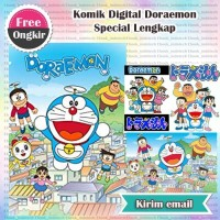 Komik Digital Doraemon Special Lengkap Ebook E-Book Buy 3 Get 1 Free