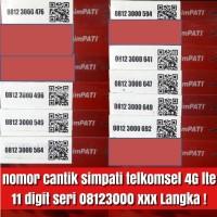 Jual nomer cantik telkomsel simpati 4G 11 digit kartu perdana best istimewa Murah