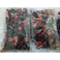 Buah Beku Mix Berry Mixed Berries Frozen IQF 1kg TERMURAH DIJAMIN