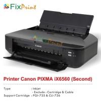 New Printer Bekas Canon iX6560 iX 6560 iX-6560, Printer Canon A3 Bekas