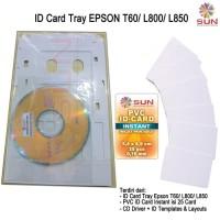 New PRINTER EPSON L805 Wifi Paket Usaha ID Card - SUN Art Paper Ink