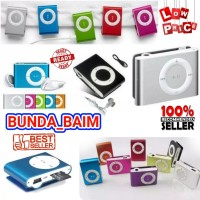 MP3 BESI MUSIC PLAYER / MP3 JEPIT STAINLES / MEDIA PLAYER SIMPLE MUSIK