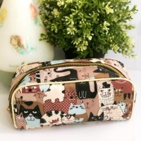 Pouch bag tas essential oils size 10 bahan longchamp