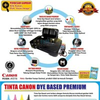 New Paket Printer Modifikasi Canon IP2770 Plus Tinta Canon Photo