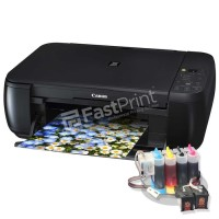 New Paket Printer Modifikasi Damper Canon MP287 Plus Dye Based Anti UV