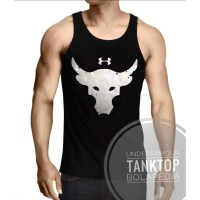 Harga singlet gym underarmour bull kaos training fitnes fitness ua | antitipu.com